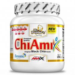 Chiamix (Semillas Originales de Chia Negro) - 250g [Mr Poppers Amix]