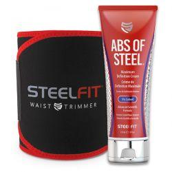 Kit abs of steel + waist trimmer