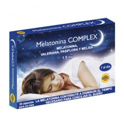 Melatonina complex 30 cápsulas [Robis]