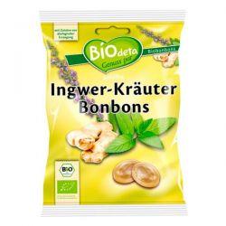 caramelos rellenos de jengibre e hierbas biodeta - 75g [biocop]