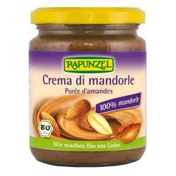 crema de almendras tostadas rapunzel - 250g