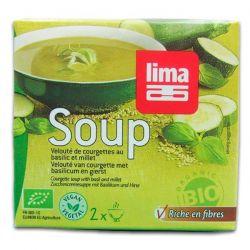 crema decalabacín con albahaca Lima - 500ml [biocop]