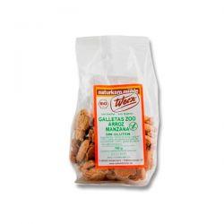 Rice crackers zoo apple free gluten werz - 150g