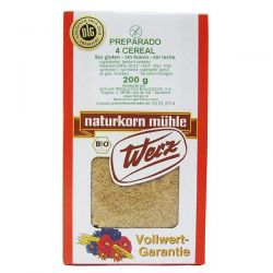 Preparado 4 cereales Werz - 200g [biocop]