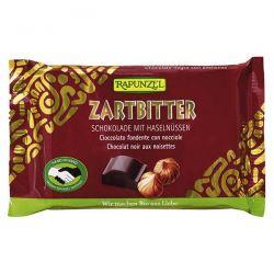 Snack de chocolate negro con avellanas rapunzel - 100g [biocop]