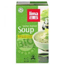 Vegetable soup and lentils lima - 1l