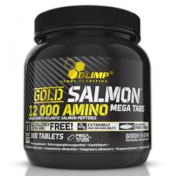 Gold Salmon 12000 Amino - 300 tabletas [Olimp Sport]