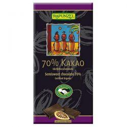 Tableta de chocolate extra negro Rapunzel - 80g [biocop]