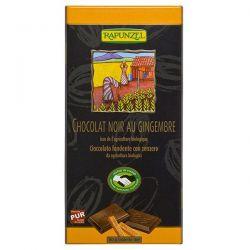 Ginger chocolate tablet rapunzel - 80g