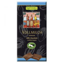 Tableta de chocolate con leche  rapunzel - 100g [biocop]