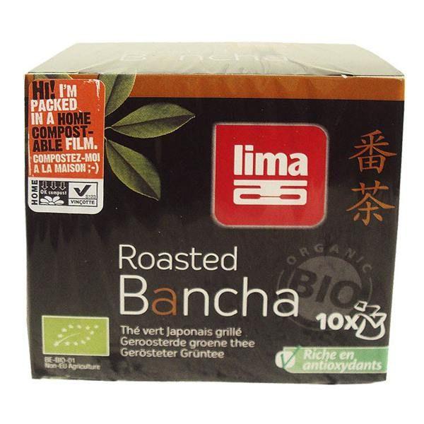 Té verde tostado Bancha instant Lima - 10 sachets