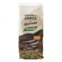 Rice cakes covered carob - 100g