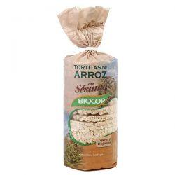 Tortitas de arroz con sésamo - 200g [biocop]