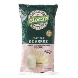 Tortitas de arroz con cobertura de yogur - 100g [biocop]