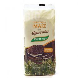 Tortitas de maíz con cobertura de algarroba - 100g [biocop]