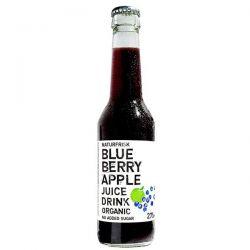 Refresco sin gas arándano-manzana Naturfrisk - 275 ml