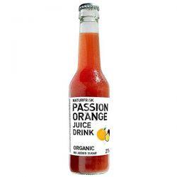 Refresco sin gas fruta de la pasión-naranja Naturfrisk - 275ml