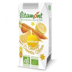 Zumo de naranja-zanahoria-limón Vitamont - 6 x 20cl [biocop]
