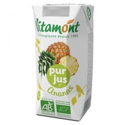 Pineapple juice vitamont - 6 x 20cl