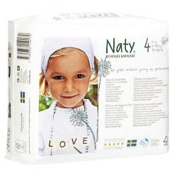 Pañal Naty n4 de 7a 18 kg - 27unidades [biocop]