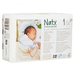 Naty Pañal n1 de 2 a 5 kg - 26 unidades