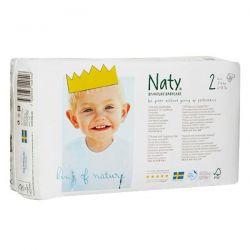 Naty Pañal n2 de 3 a 6 kg  - 34 unidades