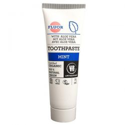 Dentífrico Menta-aloe con flúor Urtekram - 75 ml [biocop]