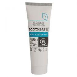 Toothpaste mint and green tea urtekram - 75 ml