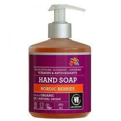 Jabón manos frutos rojos Urtekram - 380 ml [biocop]