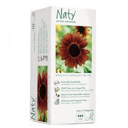 Salvaslip grande Naty - 28 unidades [biocop]