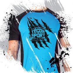 Tegor sport camiseta azul/negra [TEGOR]