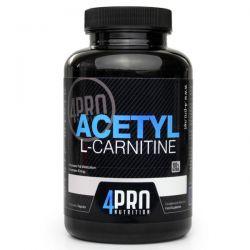 Acetyl L-Carnitina - 90 cápsulas [4pro nutrition]