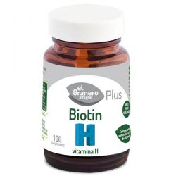 Biotín (vitamina h biotina) - 100 comprimidos [Granero]