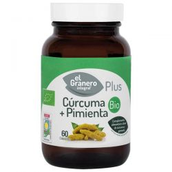 Cúrcuma + Pimienta Bio - 60 cápsulas