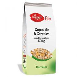 Copos de 5 Cereales Bio - 500 g [Granero]