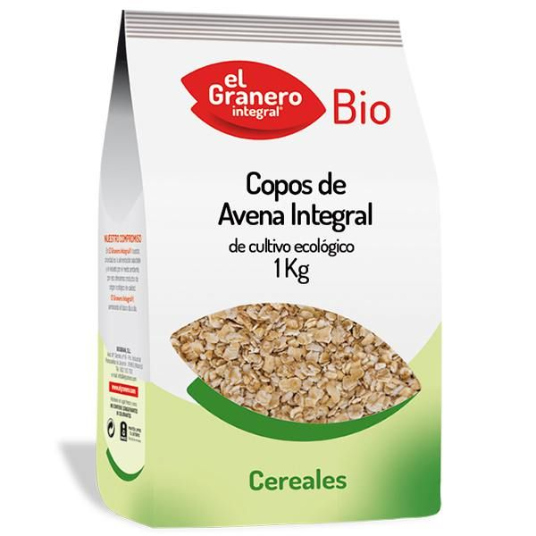 Copos de Avena Integral Bio - 1 Kg [Granero]