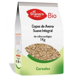 Copos Suaves de Avena Integral Bio - 1 kg [Granero]