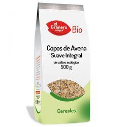 Copos Suaves de Avena Integral Bio - 500 g