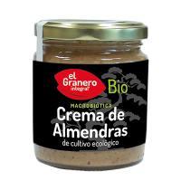 Crema de almendras bio - 230 g [Granero]