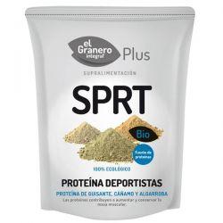 Deportistas (Proteína de Guisante, Algarroba y Cáñamo) Bio - 200 g [Granero]