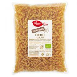 Fusilli de 4 cereales sin Gluten Bio - 500 g [Granero]