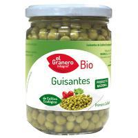 Guisantes cocidos bio - 345 g [Granero]