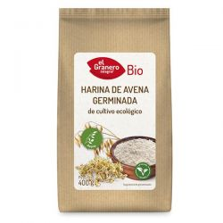 Harina de Avena Germinada Bio - 400 g [Granero]