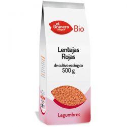 Lentejas Rojas Bio - 500 g [Granero]