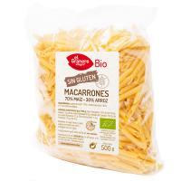 Macarrones de Maiz y Arroz sin Gluten Bio - 500 g [Granero]