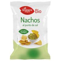 Nachos Al Punto de Sal Bio - 125 g [Granero]