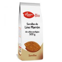 Semillas de lino marrón Bio - 500 g [Granero]