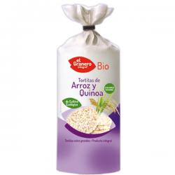 Tortitas de Arroz y Quinoa Bio - 100 g [Granero]