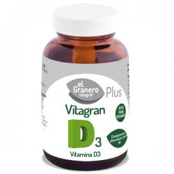 Vitagran d3 (vitamin d) - 100 cápsulas [Granero]