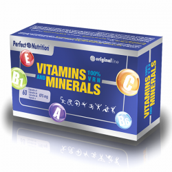 Vitamins & minerals - 60 cápsulas [Perfect]